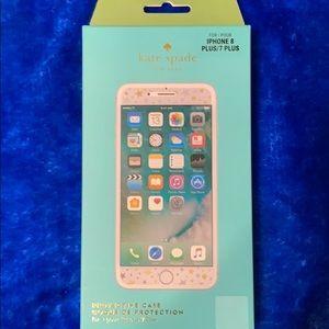Brand New Kate Spade iPhone 7/8 Plus Screen Protec
